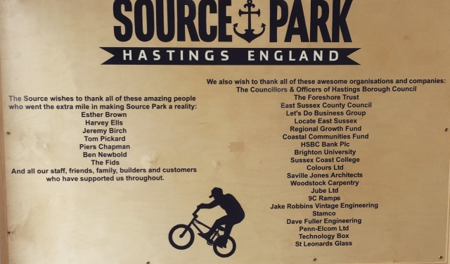 Source Bmx Park, Hastings, East Sussex